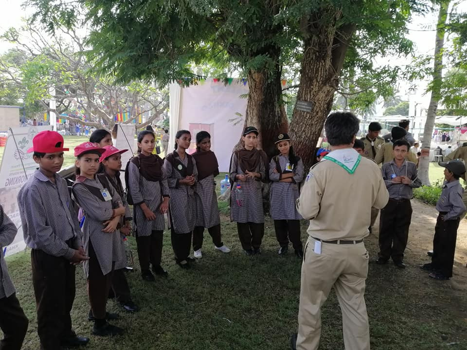 Learning about scouting